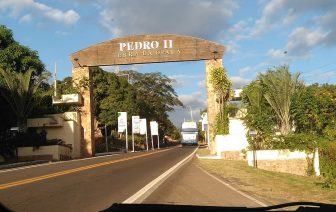 Chegada Cidade Pedro II